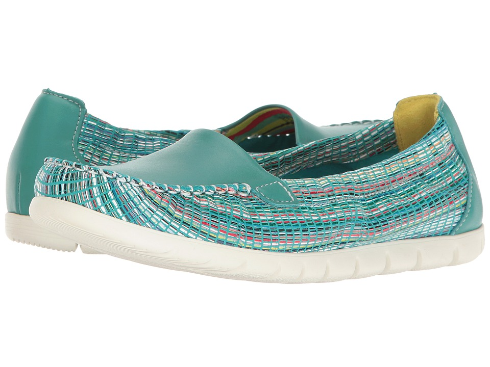 SAS - Sunny (Turquoise/Rainbow) Women's Shoes