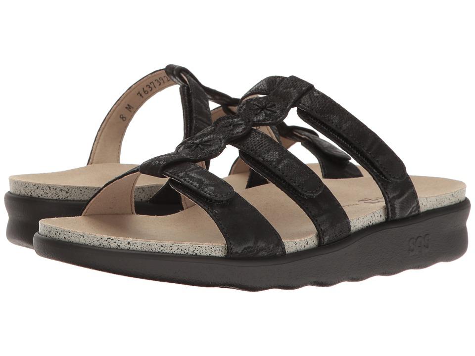 SAS - Naples (Nero Snake) Women's Shoes