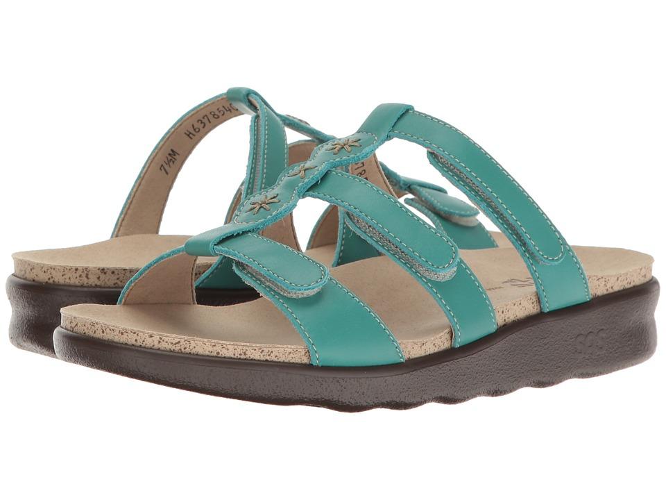 SAS - Naples (Turquoise) Women's Shoes