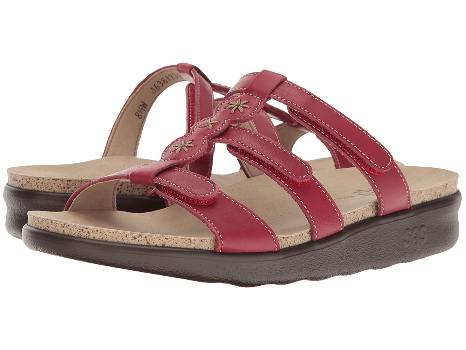 SAS - Naples (Red) Women's Shoes
