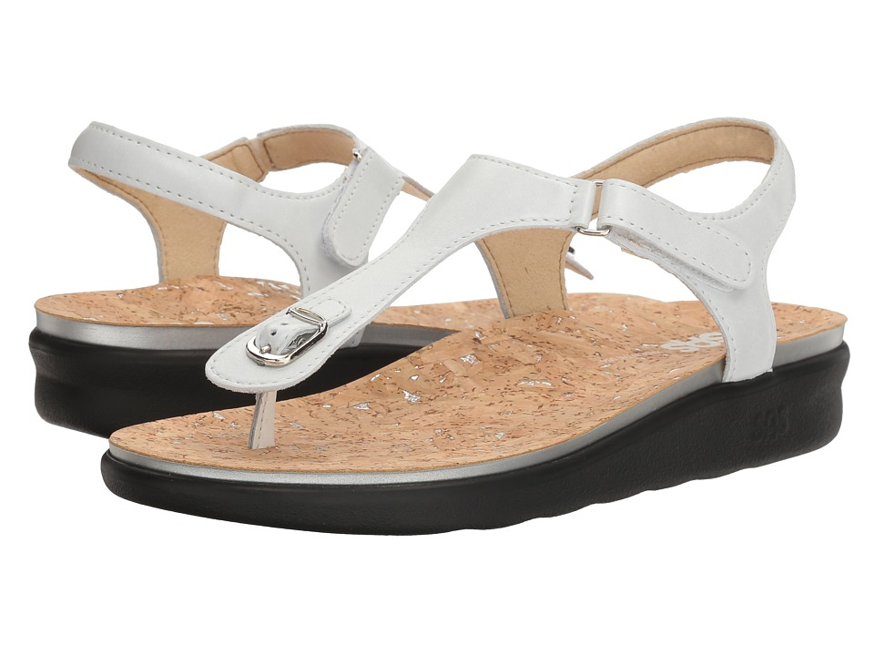 SAS Marina (Pearl White) Women's Shoes