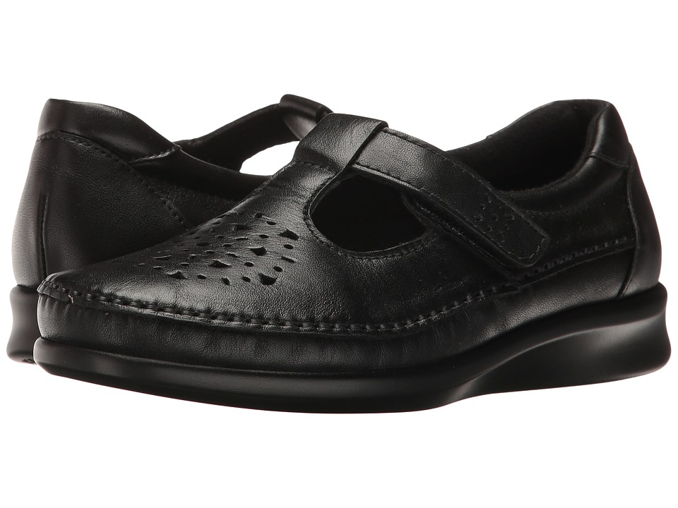SAS Willow (Black Smooth) Women's Shoes
