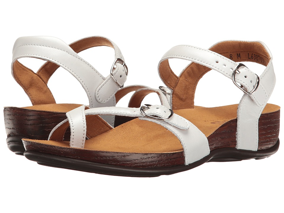 SAS Pampa (Pearl White) Women's Shoes