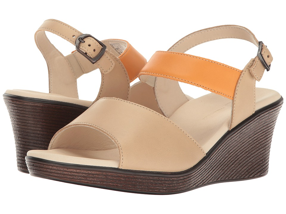 SAS Heather (Cappuccino/Orange) Women