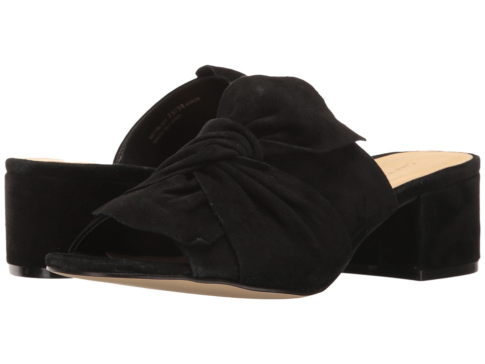 Chinese Laundry Marlowe Sandal (Black Kid Suede) Women's Shoes