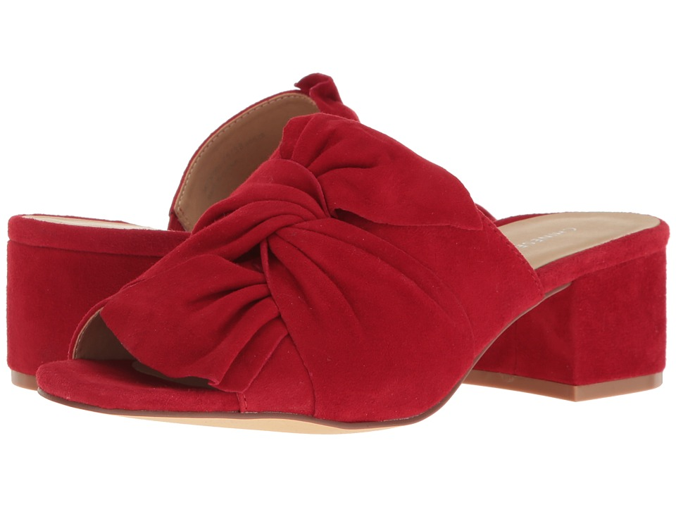 Chinese Laundry Marlowe Sandal (Rebel Red Kid Suede) Women's Shoes