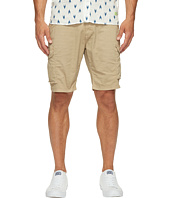 Scotch & Soda - Garment Dyed Cargo Shorts in Stretch Cotton Quality