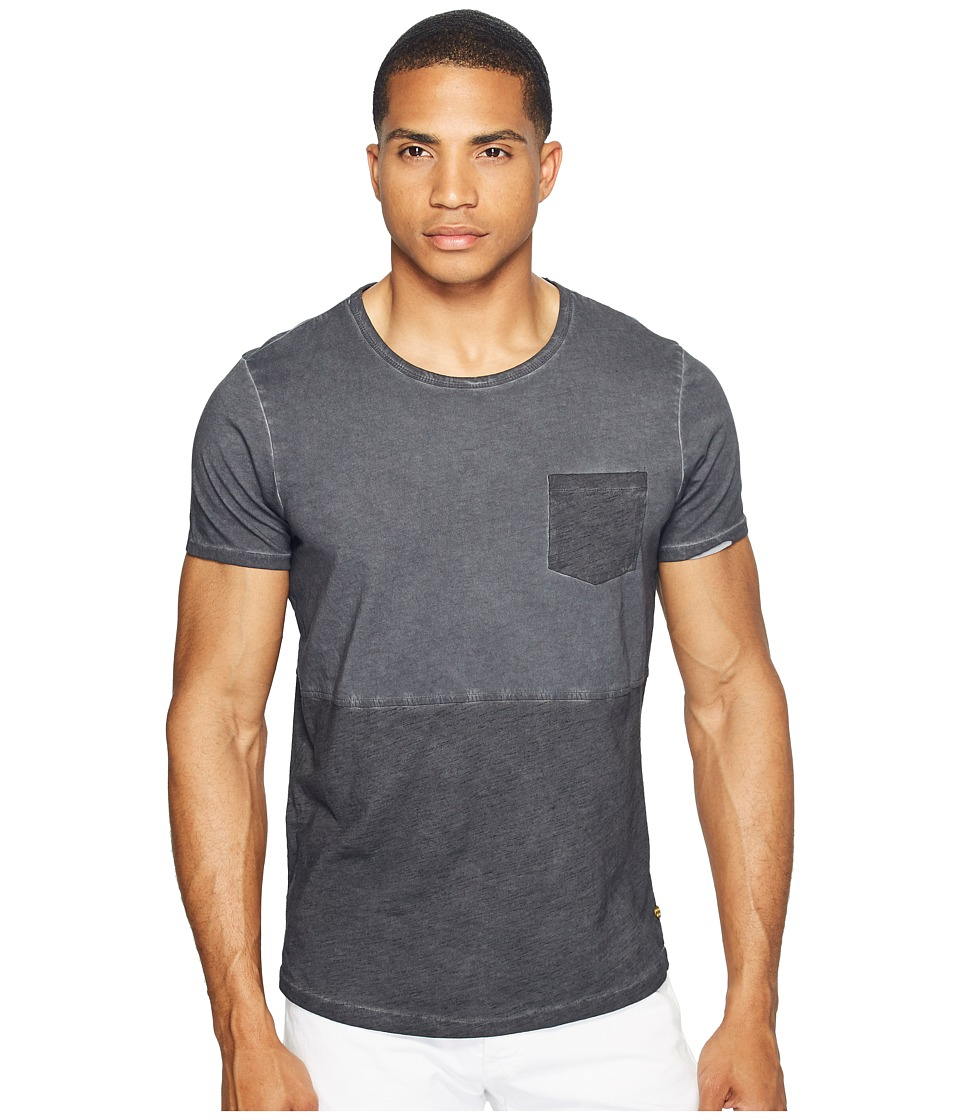 Scotch & Soda - Tee in Lightweight Jersey Quality with Cut Sewn Styling and Uneven Hem