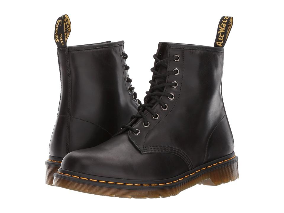 Dr. Martens 1460 8-Eye Boot (Gunmetal Orleans/Black Pu) Men