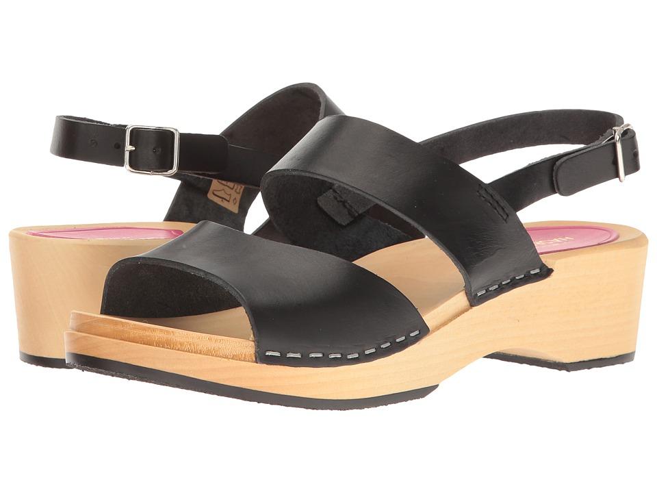 Swedish Hasbeens - Helena (Black) Womens Shoes