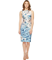 Vince Camuto - Floral Printed Sleeveless Bodycon Dress