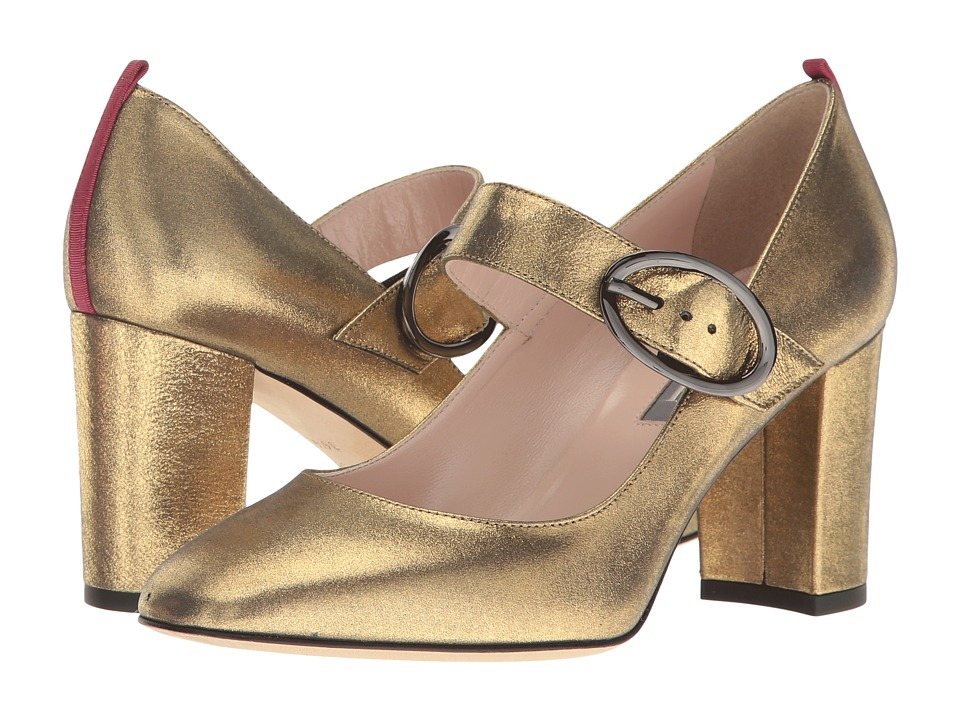 SJP by Sarah Jessica Parker Austen (Karat Gold Leather) Women