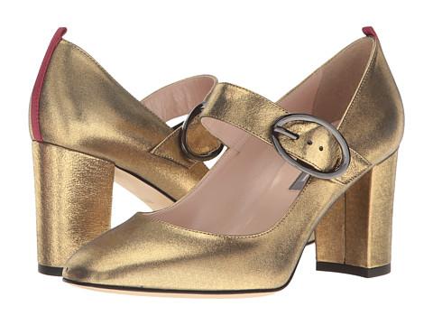 SJP by Sarah Jessica Parker Austen - Karat Gold Leather