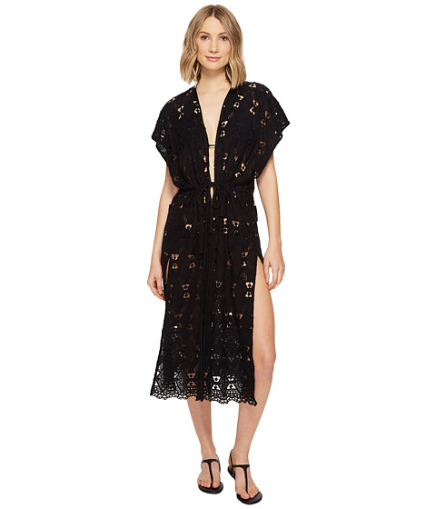 Echo Design Geo Lace Tunic Cover-Up