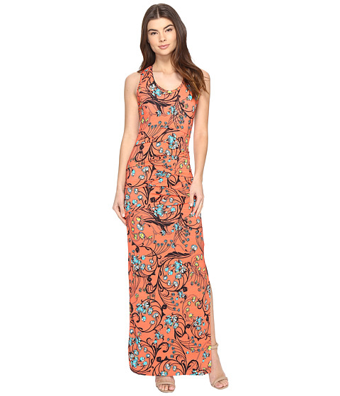 Nicole Miller Simple Maxi Dress Capri, Clothing, Women | Shipped ...