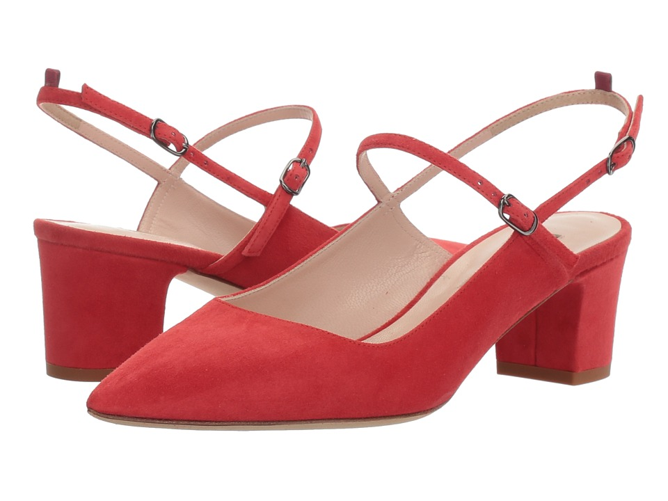 SJP by Sarah Jessica Parker Citizen (Diva Red Suede) Women