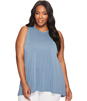 Vince Camuto Specialty Size - Plus Size Sleeveless High-Low Hem Top