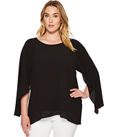 Calvin Klein Plus - Plus Size Split Sleeve Blouse