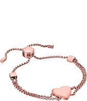 Michael Kors - Tone Heart Slider Bracelet
