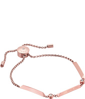Michael Kors - Tone and Crystal Slider Bracelet