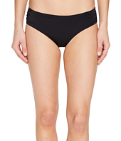 Echo Design - Solid Rouched Bikini Bottom