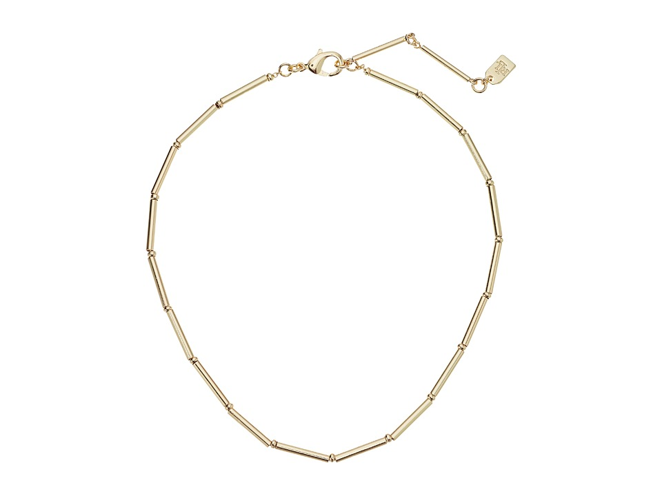 LAUREN Ralph Lauren - 14 Metal Tube Choker Necklace