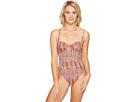 Echo Design - Paisley Underwire One-Piece Swimsuit