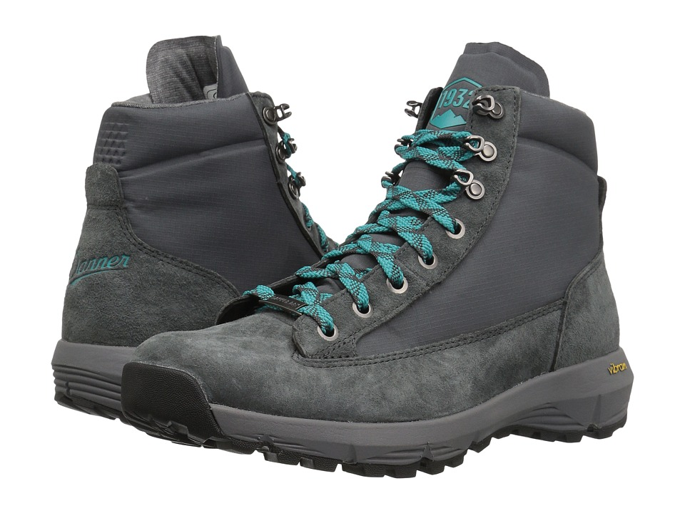 Danner - Explorer 650 5 (Gray/Bright Blue) Womens Boots