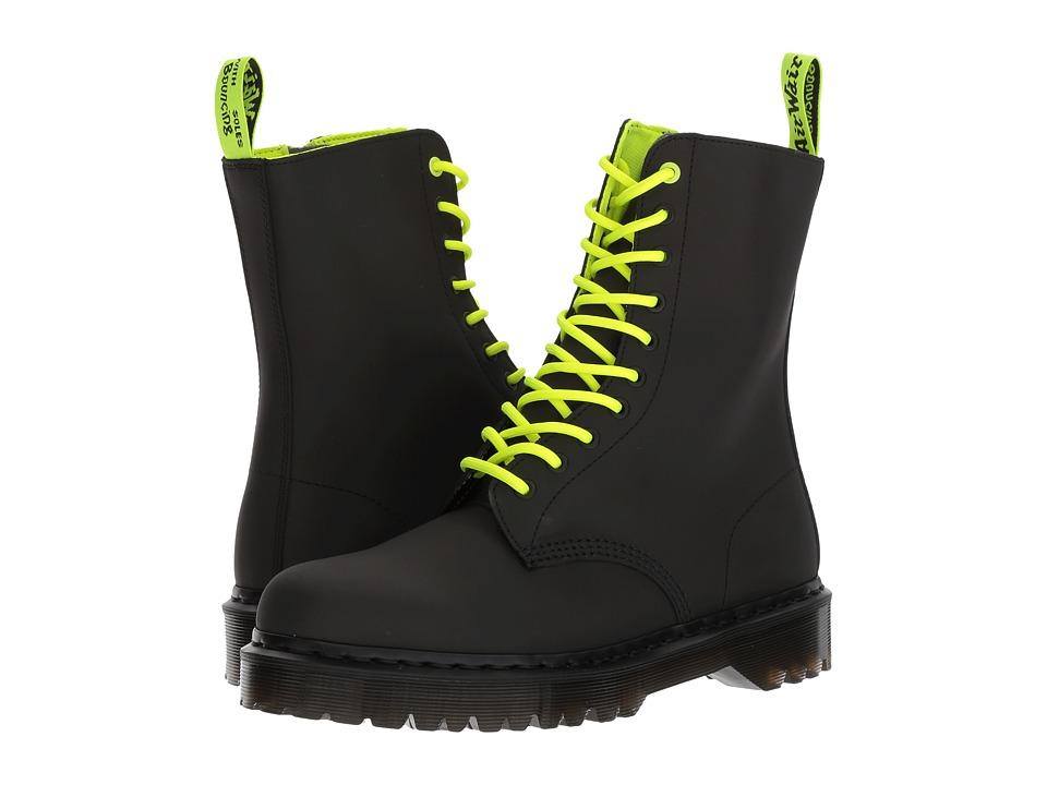 Dr. Martens 1490 Concept 10-Eyelet Boot (Black Concept) Men