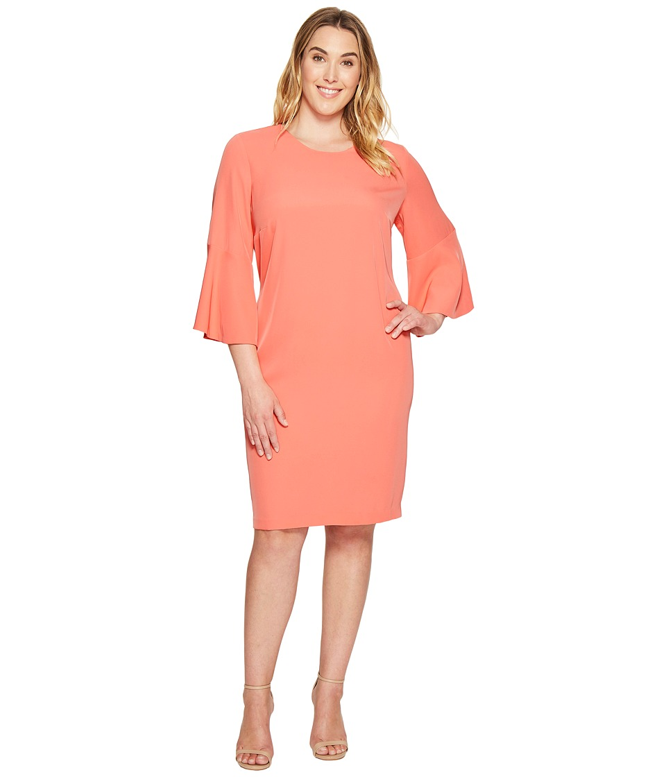 Calvin Klein Plus Calvin Klein Plus - Plus Size Bell Sleeve Dress