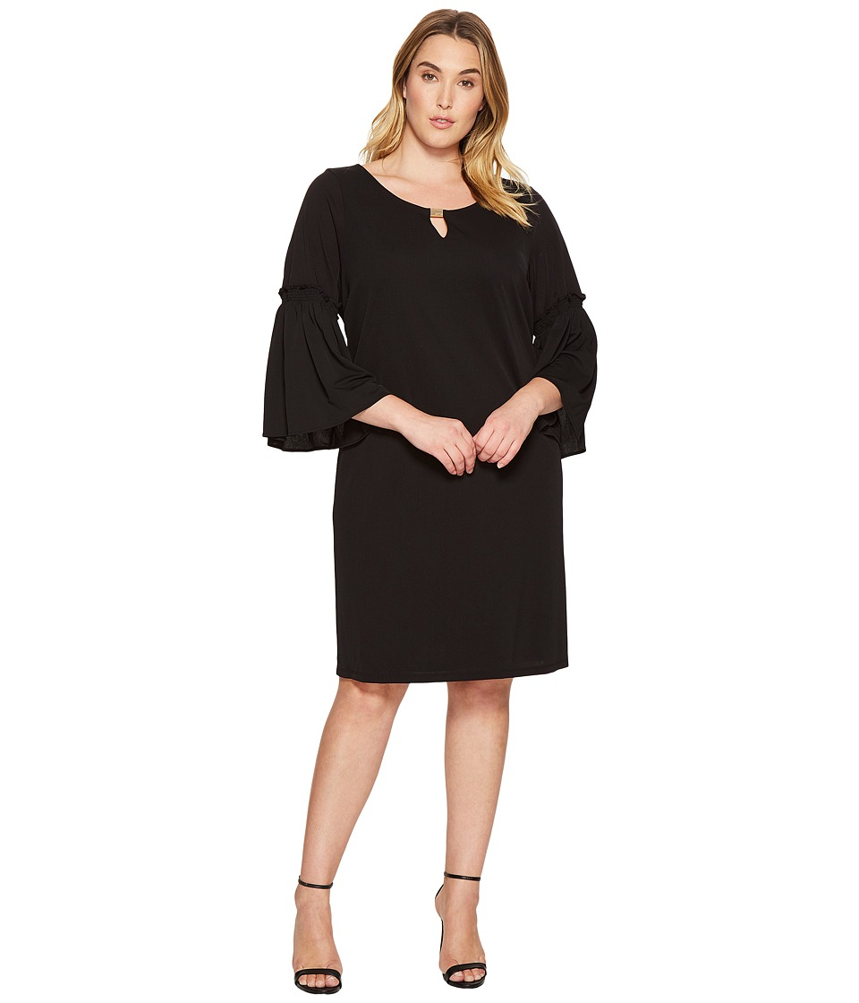 Calvin Klein Plus Calvin Klein Plus - Plus Size Flutter Sleeve Dress with Hardware