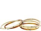LAUREN Ralph Lauren - Silver and Bone Five Set Multi Bangle Bracelet