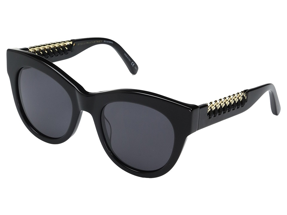 Stella Mccartney SC0064S (Black) Fashion Sunglasses