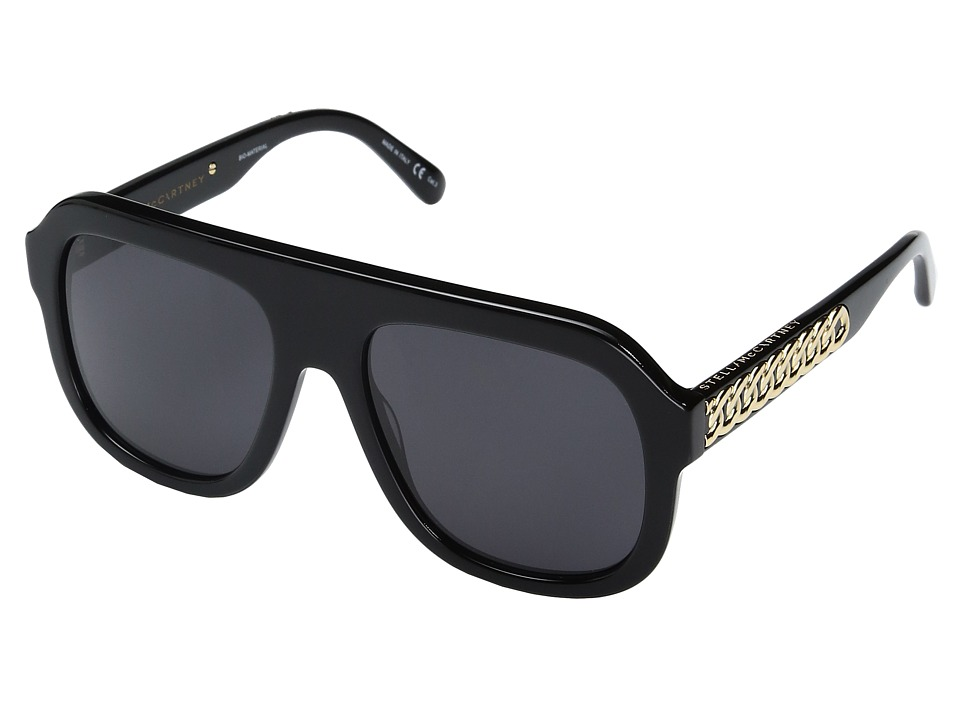 Stella Mccartney SC0065S (Black) Fashion Sunglasses