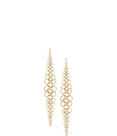 Michael Kors - Tone Chainmail Statement Earrings