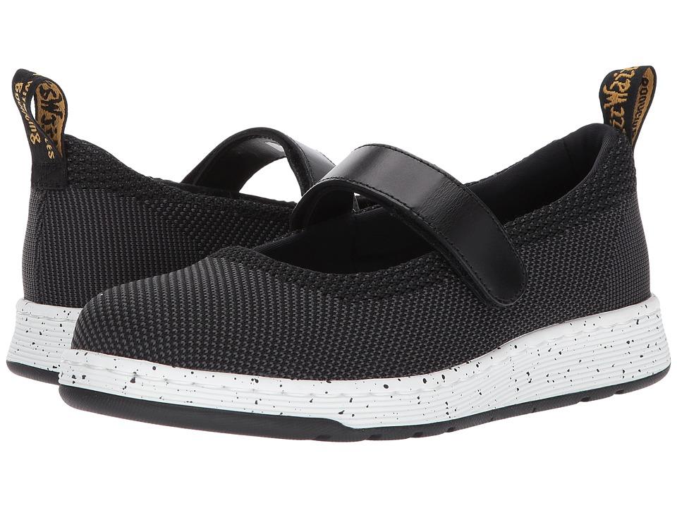 Dr. Martens Askins Knit Mary Jane Shoe (Black/Anthracite Kint Textile/Black Temperley) Women
