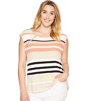 Calvin Klein Plus - Plus Size Sleeveless Top with Zipper Detail