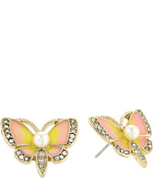 Betsey Johnson - Butterfly Stud Earrings