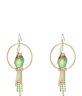 Betsey Johnson - Bird Orbital Drop Earrings