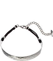 Robert Lee Morris - Sculptural Leather Choker Necklace