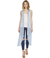 Steve Madden - Duster Vest with Tassel Trim