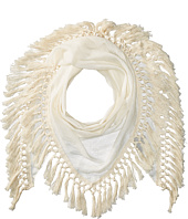 Steve Madden - Oversized Tassel Triangle Day Wrap