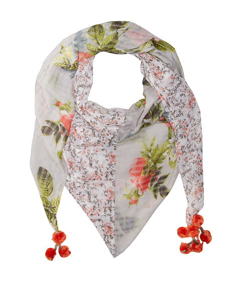 Steve Madden Coco Floral Patched Day Wrap