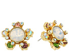 Betsey Johnson - Mixed Stone Star Stud Earrings