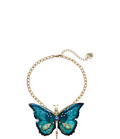 Betsey Johnson - Large Butterfly Pendant Necklace