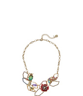 Betsey Johnson - Bird & Flower Frontal Necklace