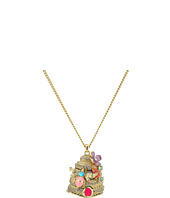 Betsey Johnson - Beehive Pendant Long Necklace