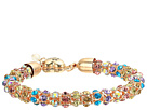 Betsey Johnson - Multicolored Stone Mesh Bracelet