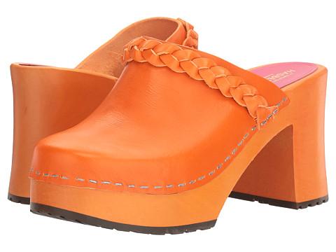 Swedish Hasbeens Laila - Orange/Orange