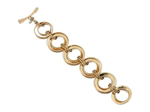 Robert Lee Morris Link Flex Bracelet - Gold